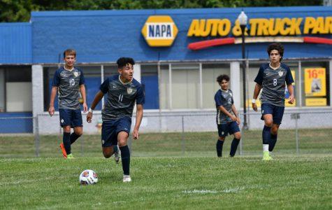 Boys soccer defeats Portage