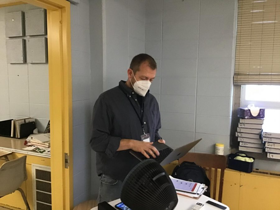 Mr. Ed Watrobka joins English department