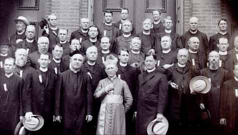 Bishop Noll debuts documentary to student body on Sept. 16 to kick off Centennial Celebration